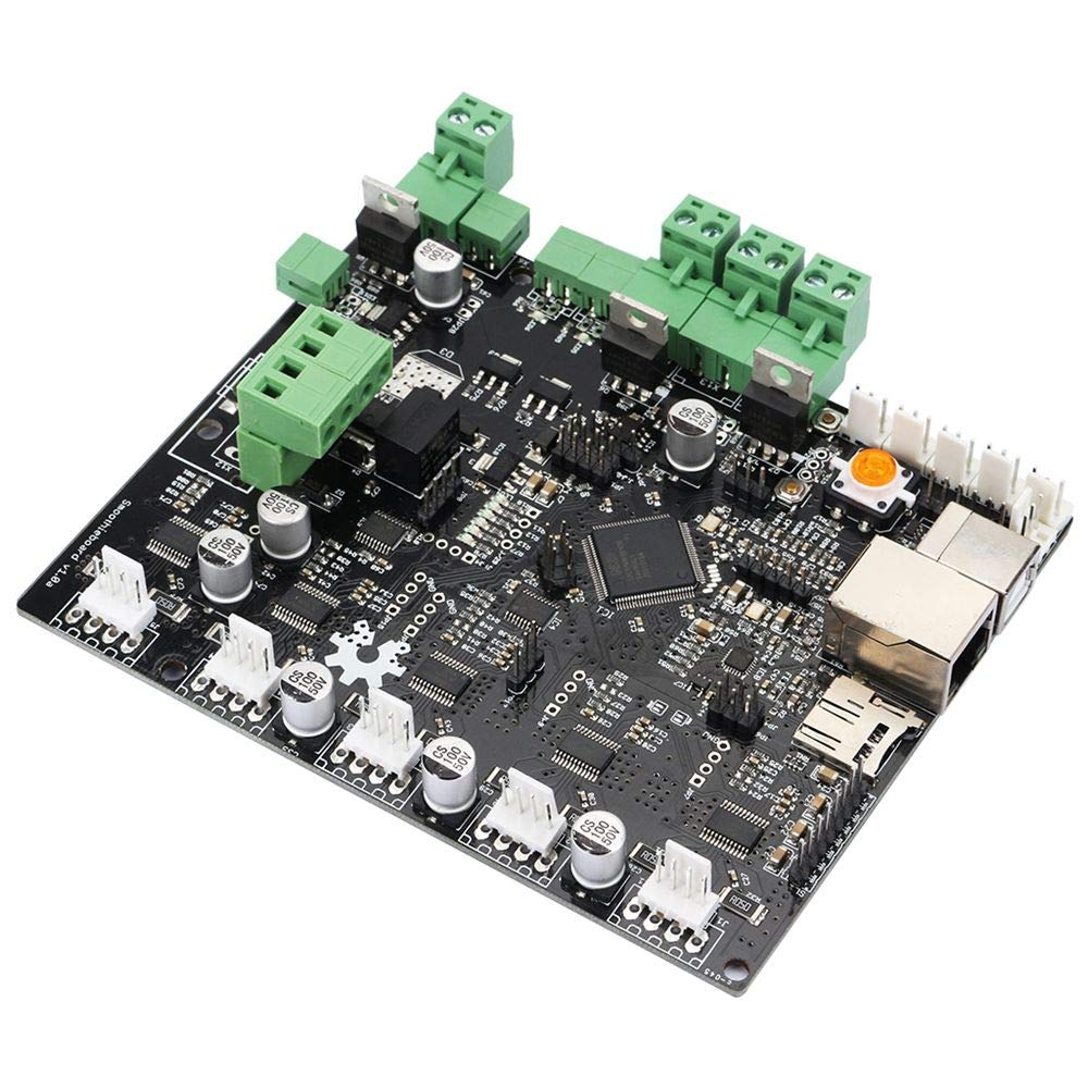 Zamtac 1 Piece of 3D Printer Smoothieboard 5X V1.0 ARM Open Source Board para CNC - (Color: Black) by GIMAX (Image #3)