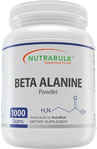 NutraBulk Beta Alanine Premium Powder – 1000 Grams