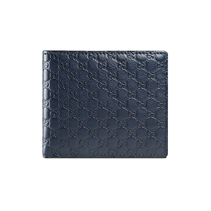 20e4d8995cae Image Unavailable. Image not available for. Colour: GUCCI Microguccissima Leather  Wallet, Blue 278596BMJ1N4009