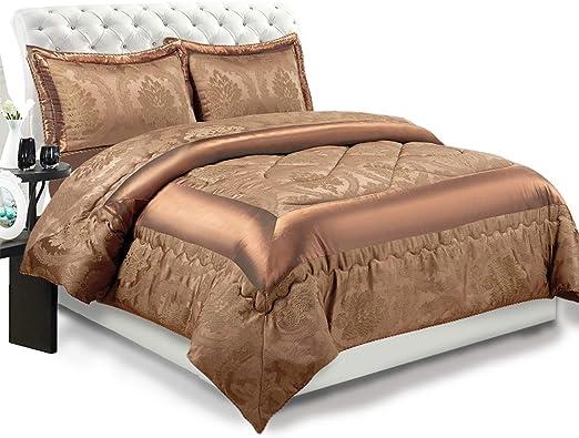 Luxus 3tlg Tagesdecke Bettüberwurf Patchwork Bettdecke Bettwäsche Set 240x260 cm