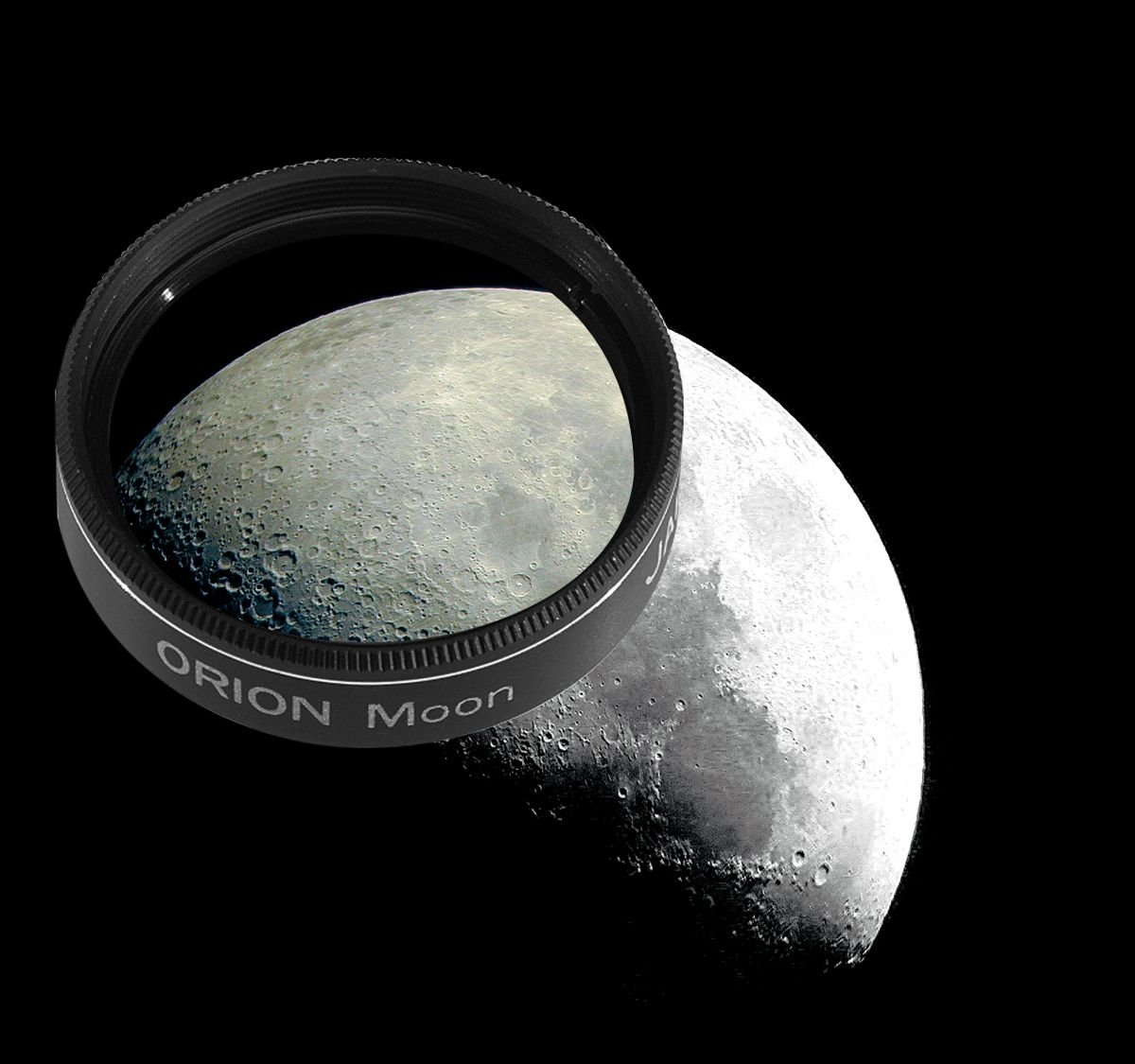Orion 05662 1.25-Inch 13 Percent Transmission Moon Filter (Black) by Orion