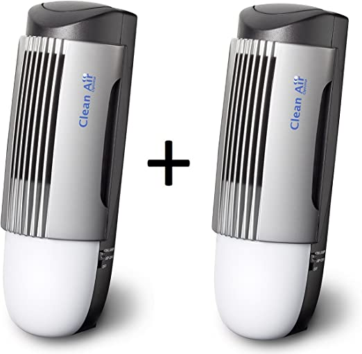 Pack Ahorro! 2u. Purificadores de aire con ionizador CLEAN AIR ...