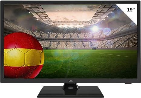TV BSL 19 Pulgadas LED - Resolución De Pantalla 720p, 60Hz, DVB-T2, HDMI, USB, negro: Amazon.es: Electrónica