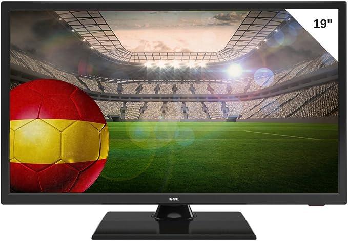 TV BSL 19 Pulgadas LED - Resolución De Pantalla 720p, 60Hz, DVB-T2 ...