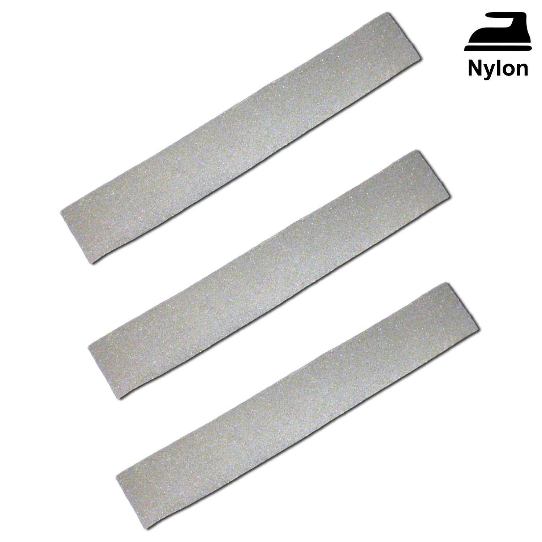 3x bandes réfléchissantes/bandes réfléchissantes thermocollant pour tissu nylon 3M Scotchlite bn_12