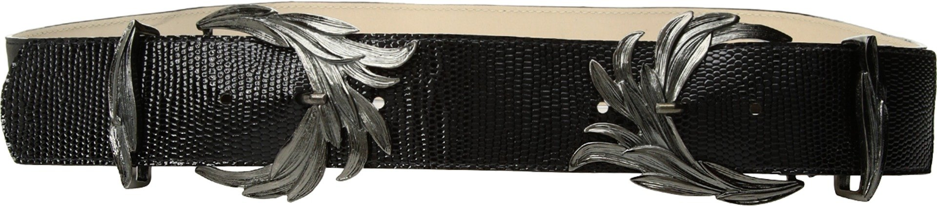 Leatherock Women's Berlin Belt Black MD (34'' Waist)