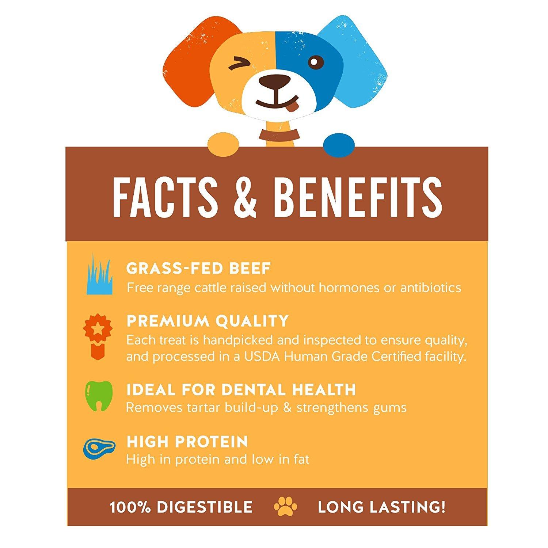 Amazon Jackpup Premium Grade Roasted Meaty Pig Femur Bone Dog