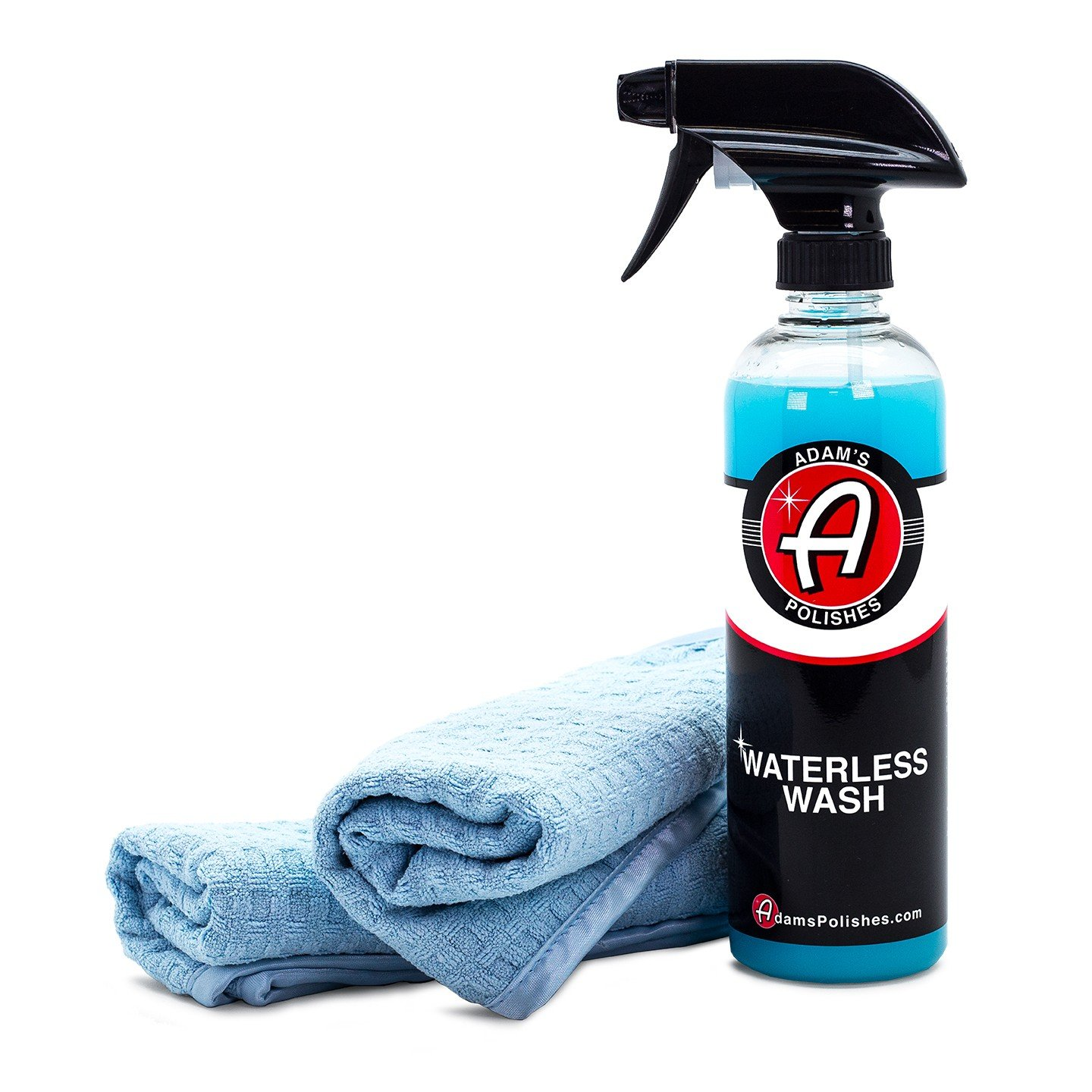 Adam's Waterless Car Wash - Made with Advanced Emulsifiers and Special Lubricants - Eco-Friendly Waterless Car Washing with No Hoses, No Water, No Messes (Combo)