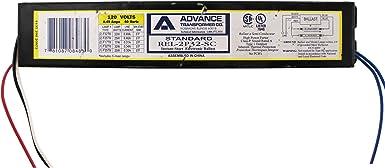 ADVANCE REL-2P32-RH-TP F32T8 F25T8 Rapid Start Fluorecent Ballast Lot of 20