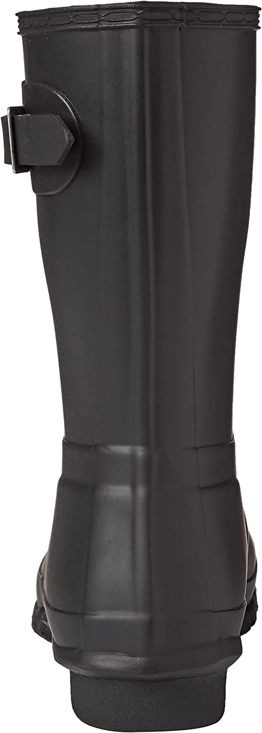 HUNTER Women's Original Short Rain Boot Black
