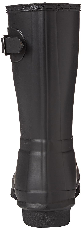 Amazon.com | Hunter Women's Original Short Rain Boot, Black Matte, 7 B(M) US | Boots