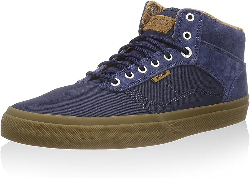 chaussure montante vans bleu