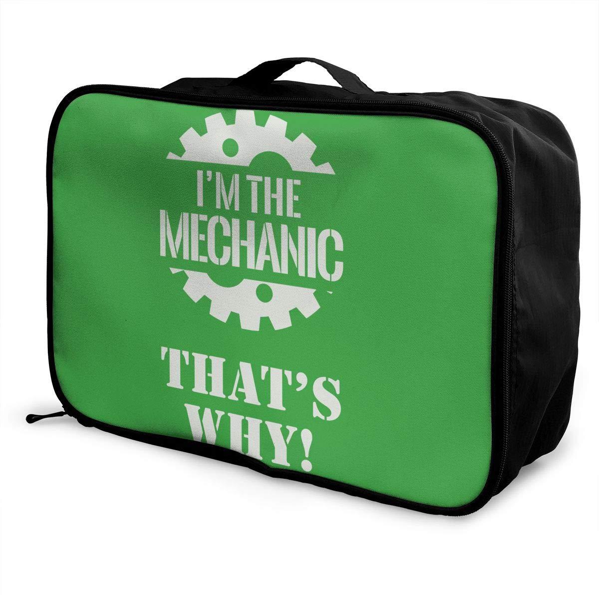 Travel Luggage Duffle Bag Lightweight Portable Handbag Mechanic Large Capacity Waterproof Foldable Storage Tote