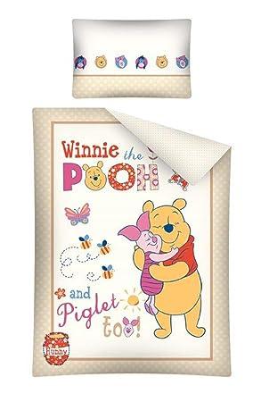 Disney winnie the pooh childrens bedclothes set cotton 100 x 135 cm