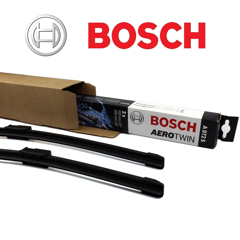 Bosch Aerotwin A 641 S Limpiaparabrisas Set/juego de limpiaparabrisas limpiaparabrisas delantero 725/625 mm + 2 Gomas de Repuesto + 2 x T10 Lámpara: ...