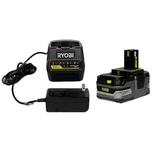 Ryobi (1) P118-B 18V cargador de batería de iones de litio ...