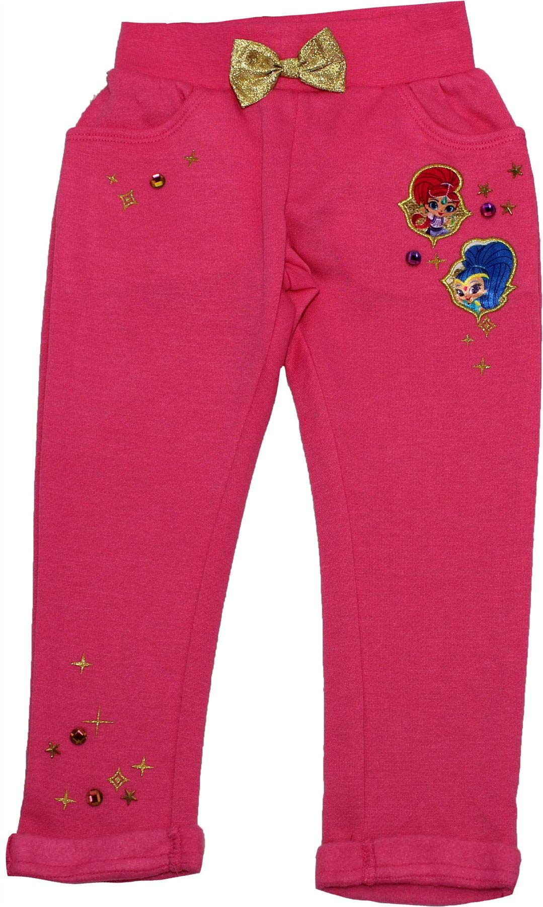 Shimmer and Shine Girls Jogging Bottom Trousers Pink 3-4 Years by Shimmer (Image #1)