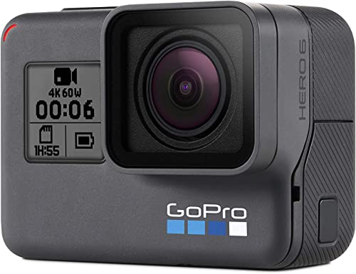 GoPro HERO 6 - Waterproof 4k HD + 12MP Action Camera w/Touch Screen