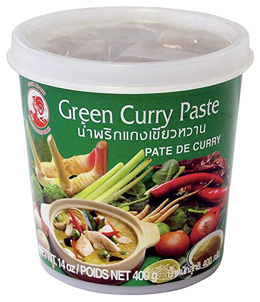 Cock Brand - Thai Green Curry Paste - 14 Oz