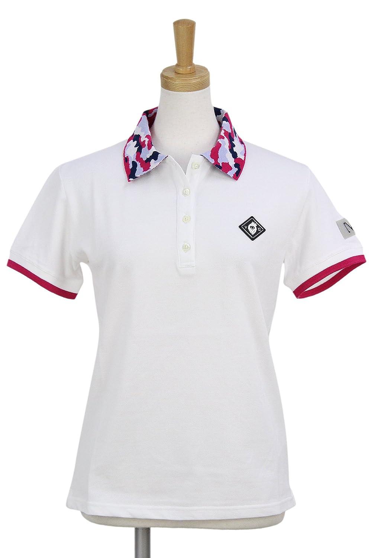 ポロシャツ レディース ヴィトゥエルブ V12 ゴルフ 2018 春夏ゴルフウェア M(1) ホワイト(WHITE) 1810-ct12l   B07D297SRS