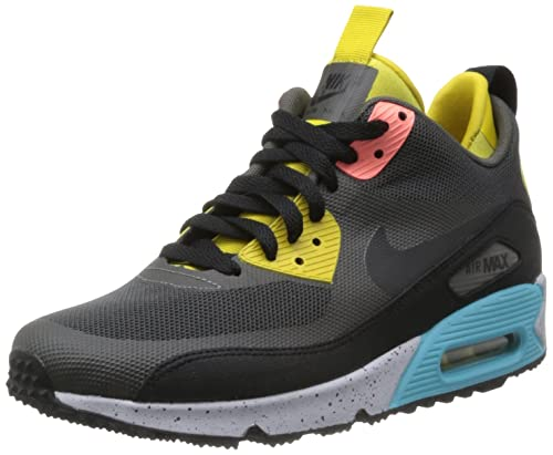 finest selection 94703 f5d5d Nike Air Max 90 Sneakerboot NS Charred Grey - Black - Pink Mens 11