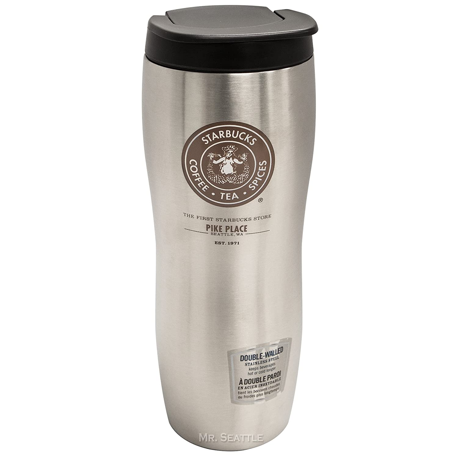 Amazon.com | Starbucks Pike Place Concord Double-Walled Stainless ...