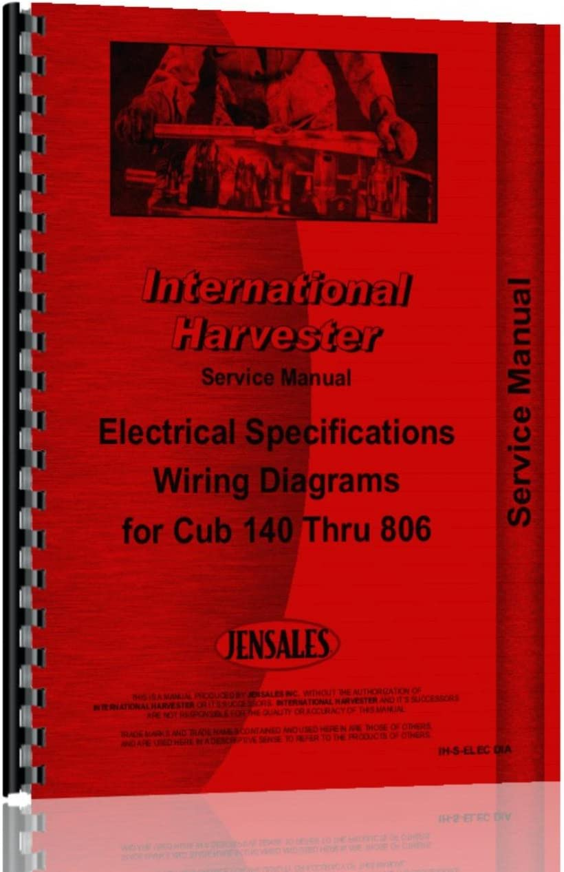 [SCHEMATICS_48IS]  Amazon.com: International Electrical Specs and Wiring Diagrams Service  Manual: Home Improvement | International Wiring Diagrams |  | Amazon.com