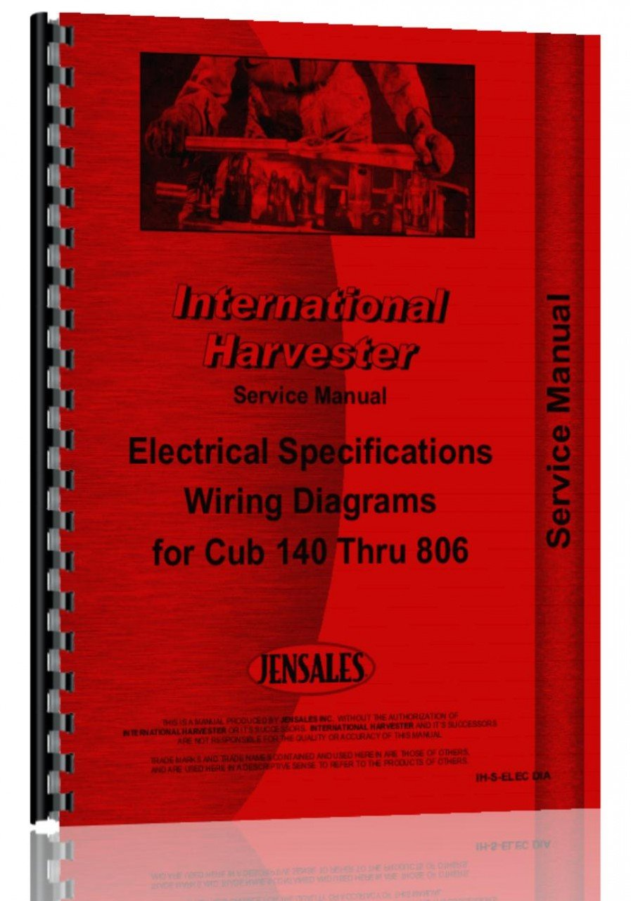 International Electrical Specs And Wiring Diagrams Massey Ferguson 360 Diagram Service Manual Home Improvement