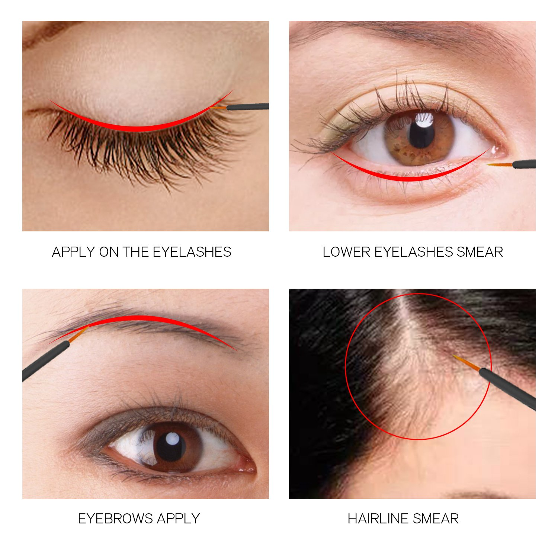 Amazon Eyelash Growth Enhancer Brow Serum For Long Luscious