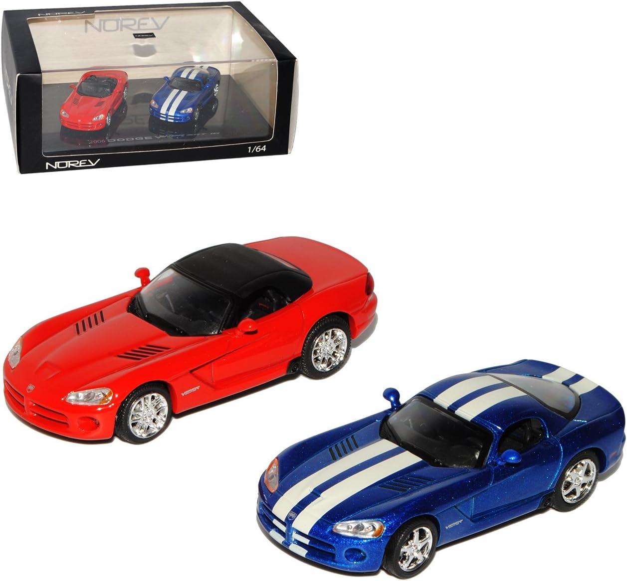 Generation 2003-2010 1//64 Modell Auto mit individiuellem Wunschkennzeichen Norev Dodge Viper GTS und SRT10 Coupe und Cabrio 2