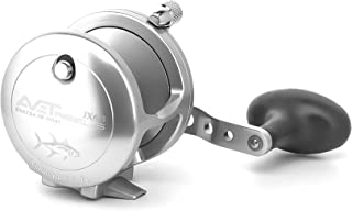 product image for Avet JX6/3-LH Lever Drag Conventional Reel, Silver, Left Hand