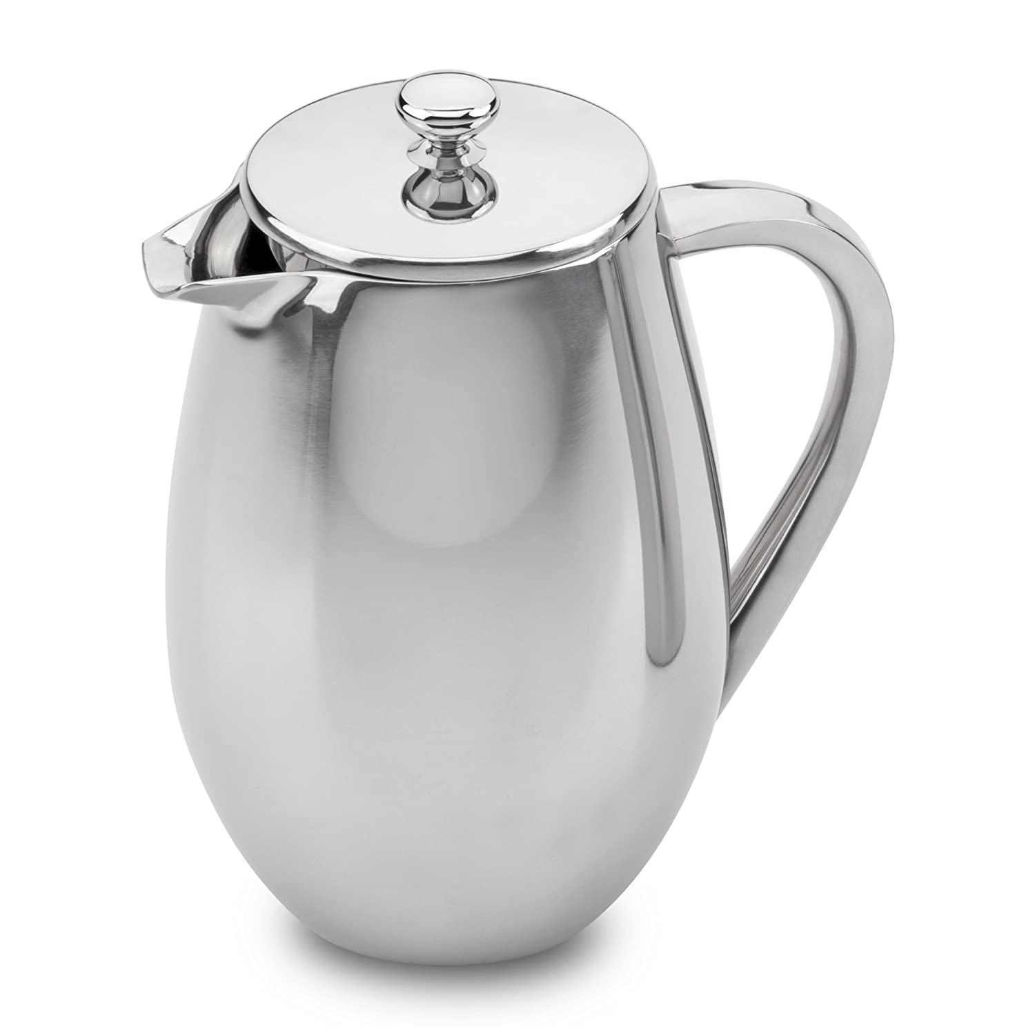 3 Cup Stainless Steel Double Wall Cafetiere