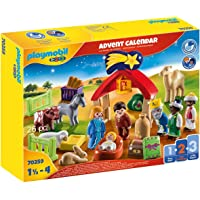Playmobil - 1.2.3 Advent Calendar Christmas Manger
