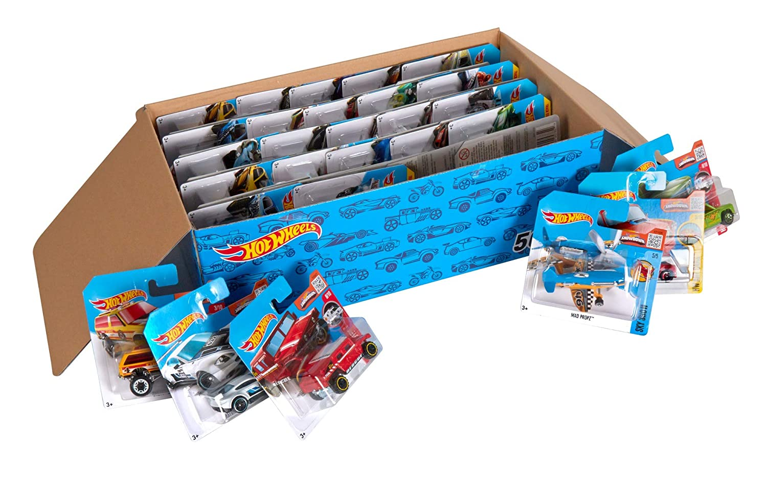 Hot Wheels Cars 50-Pack ONLY $...