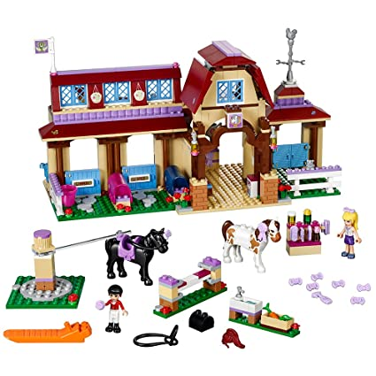 Amazon.com: LEGO Friends Heartlake Riding Club 41126: Toys & Games