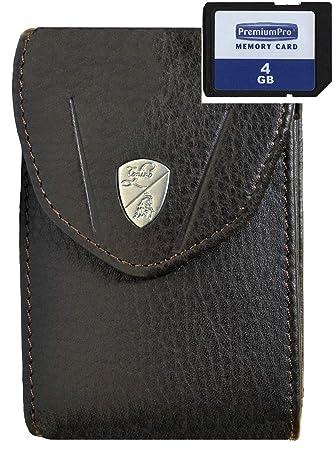 Cámara caja Lamborghini piel con tarjeta SD de 4 GB para ...