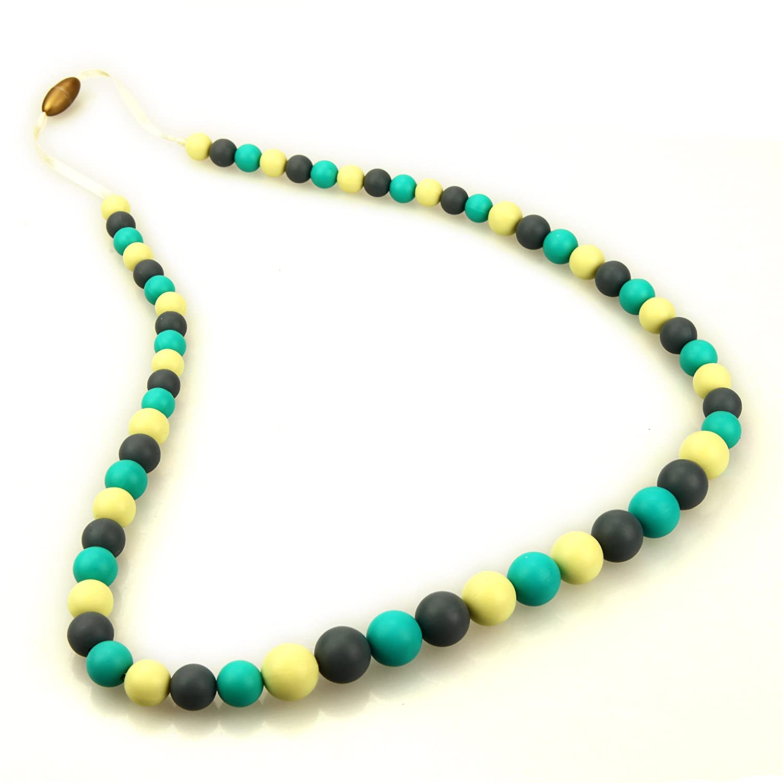 【送料無料/新品】 Deeyee Baby Turquoise, Teething Gray, Nursing Necklace White Jewelry - BPA Free and FDA Approved - Turquoise, Gray, Navajo White by Deeyee B017YRF2I6, 虻田郡:5c7cfd96 --- a0267596.xsph.ru