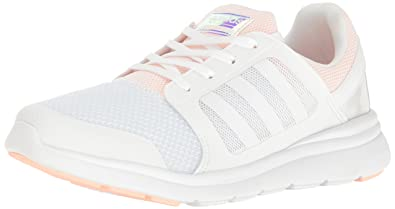 adidas Neo Women's Cloudfoam Xpression W Running Shoe White/White/Haze Coral