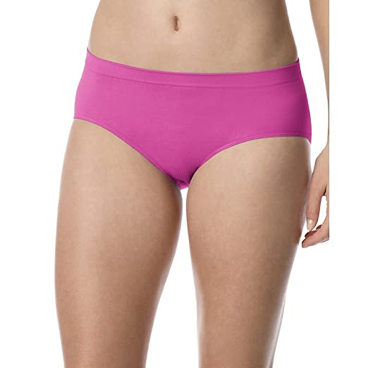 d77bbf97ef7 Image Unavailable. Image not available for. Color  Barely There by Bali  Woman Comfort Revolution Microfiber Seamless Hipster