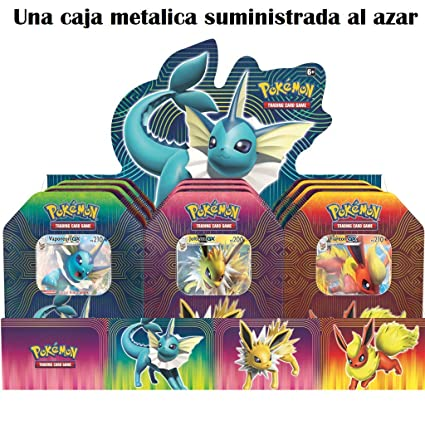 Amazon.com: The Pokémon Company Metal Box Elemental Power ...