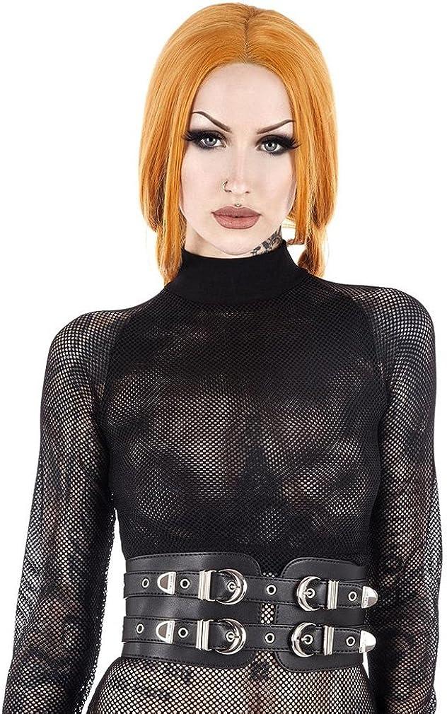 Cintura Killstar Donna nero nero Taglia unica