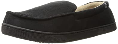 Amazon.com   Isotoner Men\'s Microsuede Moccasin Slippers   Slippers