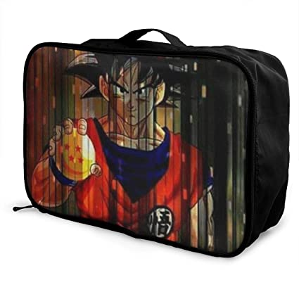 e4b728ea04ae Amazon.com: Meirdre Travel Duffel Bag Dragonball Lightweight Large ...