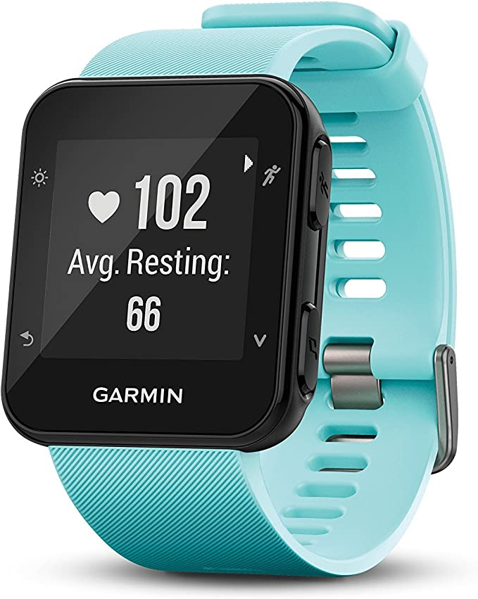 Garmin Forerunner 35 Watch, Frost Blue (Renewed)