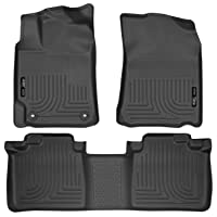 Husky Liners 98901 Black Weatherbeater Front & 2nd Seat Floor Liners Fits 2012-2017...