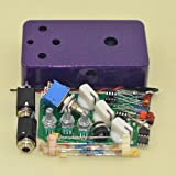 DIY Fuzz Pedal Kits with 1590B Diecast Aluminum Enclosure Flash Purple