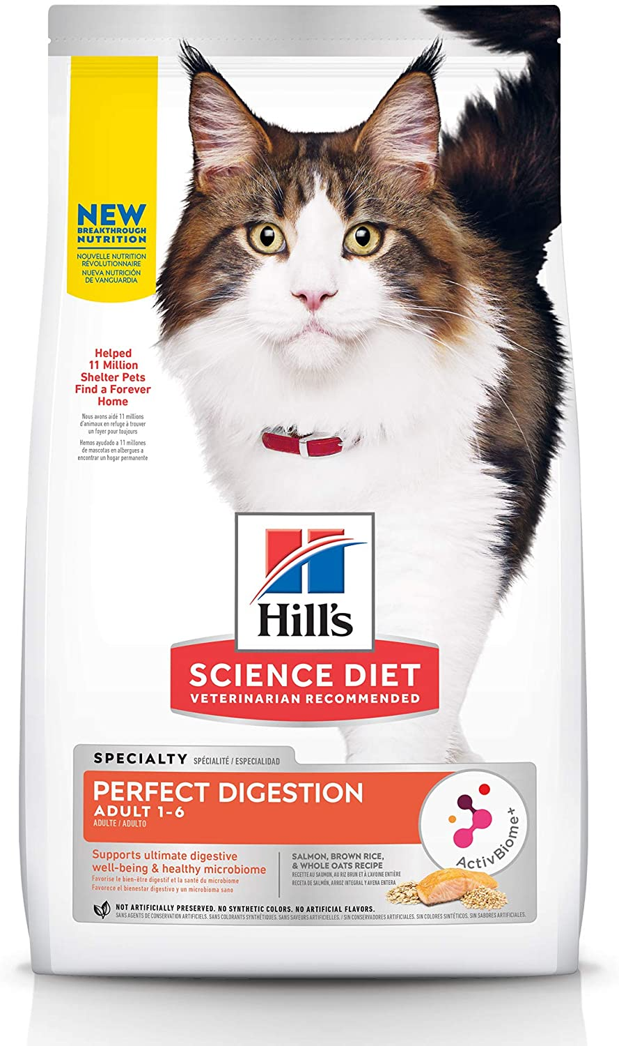 Hill's Science Diet Adult Cat Dry Food Perfect Digestion
