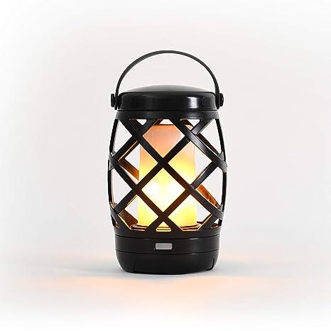 Auraglow Lámpara de Mesa de Luz LED Linterna Colgante de Glorieta ...