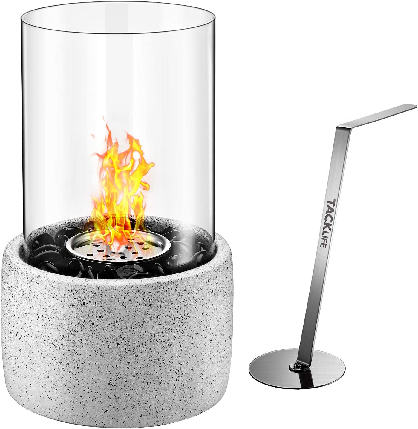 TACKLIFE Tabletop Portable Fireplace