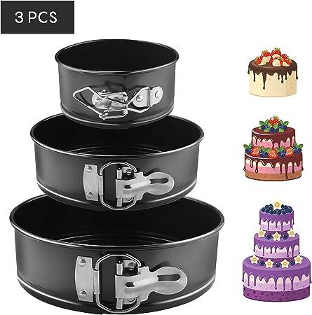 Non-Stick european-grade silicone BPA free Stampo in silicone 22,9/cm Round cake pan baking Mold 6/cm di profondit/à